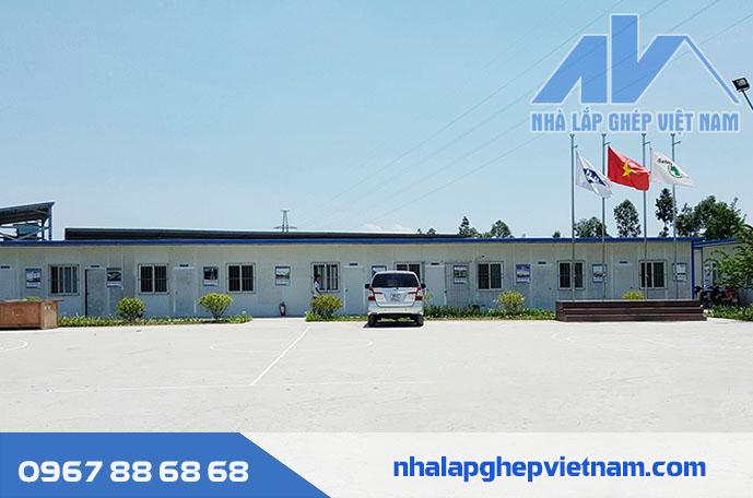 Văn phòng nhà lắp ghép VN01