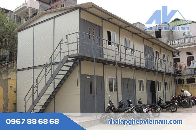 Nhà ở công nhân lắp ghép VN04
