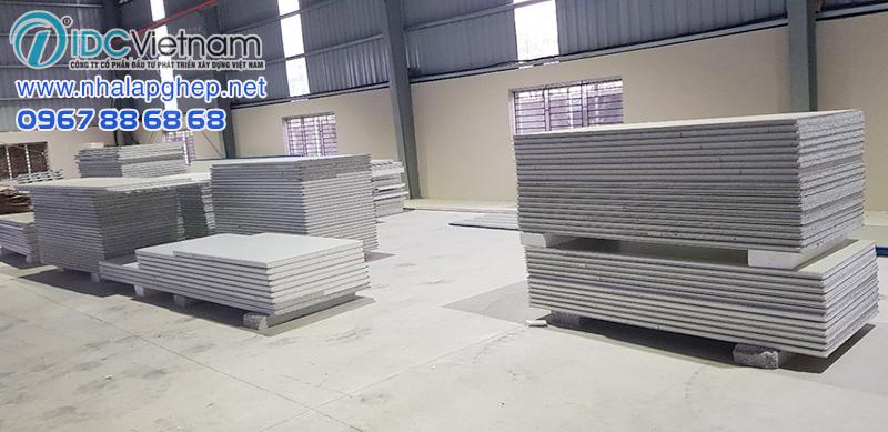 Nhà máy sản xuất tôn panel các loại của IDC