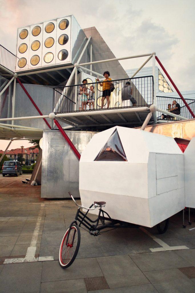 Trung tâm văn hóa Cộng đồng làm bằng công nghệ lắp ghép nhà